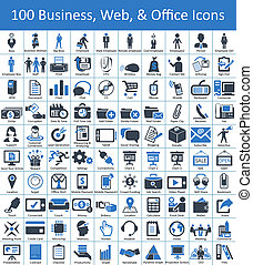 The icons for office, business, organization, and web related work is available here. It%u2019s in high resolution in vector form. Eps & AI file attached with extended license. Help file also included in Main Files. Icons used for Organization, Business, Web & Office purpose, effective to use for ...