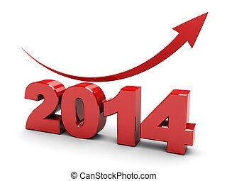 2014 rising graph