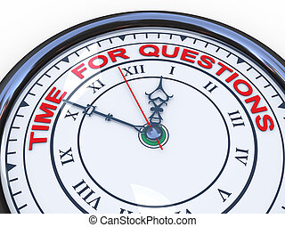 3d clock - time for questions