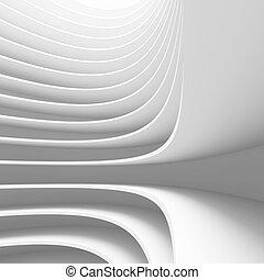 3d Illustration of Conceptual Architecture Design