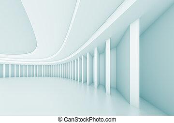 3d Illustration of Creative Architecture Design