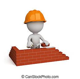 3d person – builder