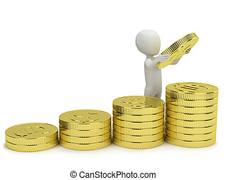 3d small people - increases profits.