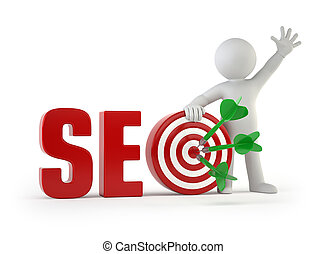 3d small people - SEO