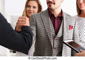 A helper of an Arab businessman organized