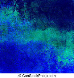 Abstract blue dark distressed background