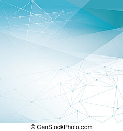 Abstract Network Background for Web Design / Print / Presentation