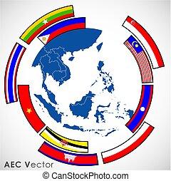 Abstract of Asean Economic Community, AEC.