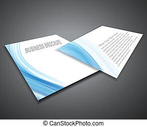 abstract Professional business corporate brochure design presentation Vector illustration