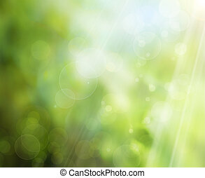 abstract summer nature background