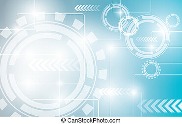 Abstract technology background desi