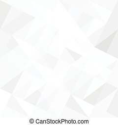 Abstract white background with triangles. Vector.