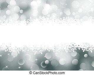 Christmas abstract bokeh card. EPS 8