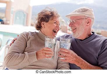 Active Senior Adult Couple