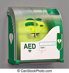 Automated External Defibrillator portable electronic life saver