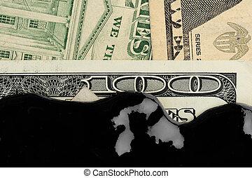 American dollar oil