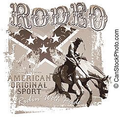 american original sport rodeo
