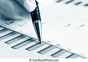 Analysis of stock market reports