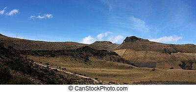 Andean landscape, Los Andes, Colombia