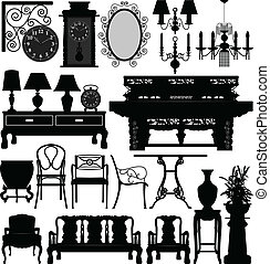 Antique Old Furniture Home House