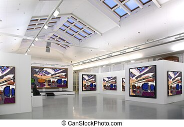art gallery 2. all pictures just filtred whole photo