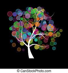 Art tree fantasy