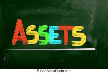 Assets Concept