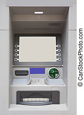 ATM machine for money withdraw