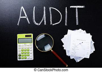 Audit Concept On Blackboard