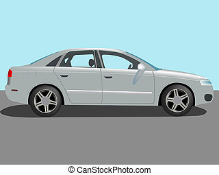 automobile cartoon, abstract art illustration
