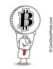 average exchange rate of Bitcoin