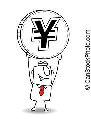 average exchange rate of yen