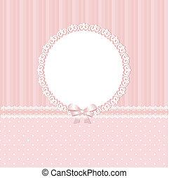 Baby pink vector background