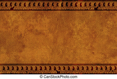 Background with Egyptian national patterns