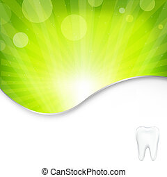 Background With Tooth