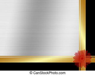 3d illustration of floral background