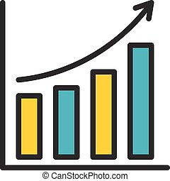 Bar Chart outline icon