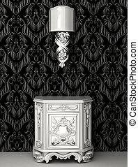 Baroque style in royal interior