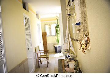 bathhouse, private beach cabins