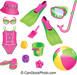 Beach accessories for girl