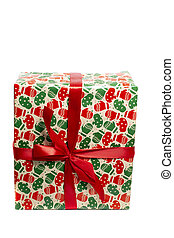 Beatifully wrapped present