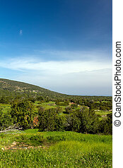 beautiful landscape view of cyprus