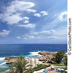 Beautiful view of Cyprus