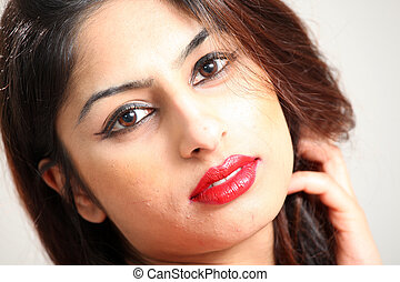Beautiful Young Indian Lady