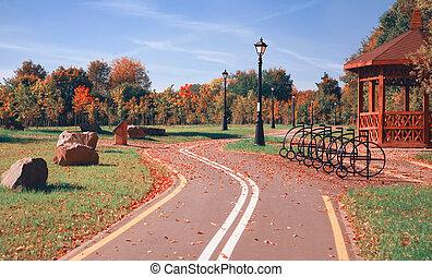 Bicycle road