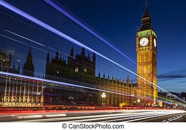 Big Ben London England by Night