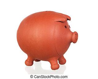 Big brown moneybox