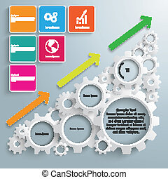 Big Machine Colored Rectangles Chart