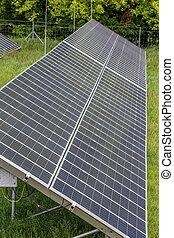 Big solar panels
