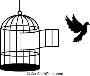 Bird cage (free bird)